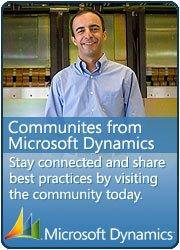 Microsoft Dynamics Community!!!